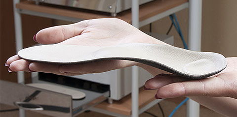 Every orthotics pad is measured and made individually for your feet.
